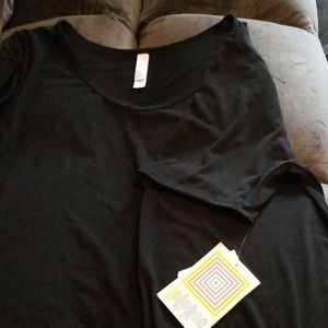 Solid Black Perfect T. Brand new with tags.